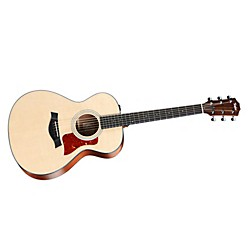 Taylor 312e Sapele/Spruce Grand Concert Acoustic-Electric Guitar (312e)