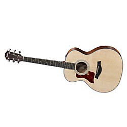 Taylor 314e-L Sapele/Spruce Grand Auditorium Left-Handed Acoustic-Electric Guitar (314e LH)