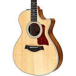 Taylor 412ce Ovangkol/Spruce Grand Concert Acoustic-Electric Guitar (412ce-2012)