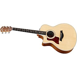 Taylor 416ce-L Ovangkol/Spruce Grand Symphony Left-Handed Acoustic-Electric Guitar (416CE-L-2012)