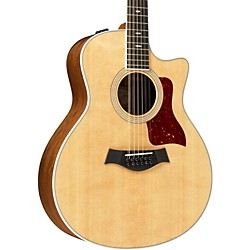 Taylor 456ce Ovangkol/Spruce Grand Symphony 12-string Acoustic-Electric Guitar (456CE-2012)