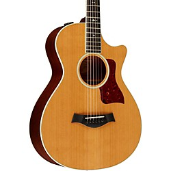 Taylor 512ce Grand Concert 12-Fret Cutaway ES2 Acoustic-Electric Guitar Medium brown stain (512ce-12-FretES2)