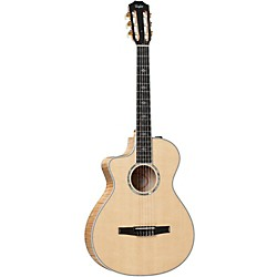 Taylor 612ce-N-L Maple/Spruce Nylon String Grand Concert Left-Handed Acoustic-Electric Guitar (612CE-N-L-2012)
