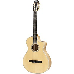 Taylor 612ce-N Maple/Spruce Nylon String Grand Concert Acoustic-Electric Guitar (612CE-N-2012)