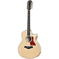 Taylor 656ce-2014 Grand Symphony 12 String Cutaway ES2 Acoustic-Electric Guitar (656ceES2-2014)