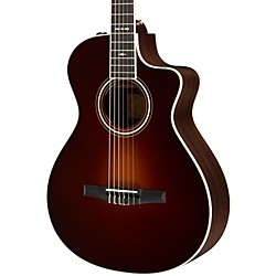 Taylor 712ce-N Rosewood/Spruce Nylon String Grand Concert Acoustic-Electric Guitar (712CE-N-2012)