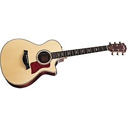 Taylor 812ce Rosewood/Spruce Grand Concert Acoustic-Electric Guitar (USED004000 812CE-2012)