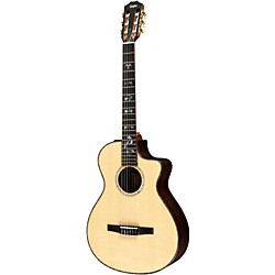 Taylor 912ce-N Rosewood/Spruce Nylon String Grand Concert Acoustic-Electric Guitar (912CE-N-2012)