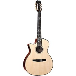 Taylor 914ce-N-L Rosewood/Spruce Nylon String Grand Auditorium Left-Handed Acoustic-Electric Guitar (914CE-N-L-2012)