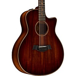 Taylor K66ce 12-String Grand Symphony Cutaway ES2 Acoustic-Electric Guitar (K66ceES2)
