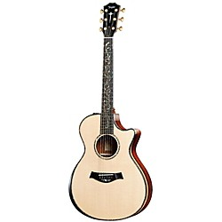 Taylor PS12ce Presentation Series Cocobolo/Spruce Grand Concert Acoustic-Electric Guitar (PS12CE-2012)