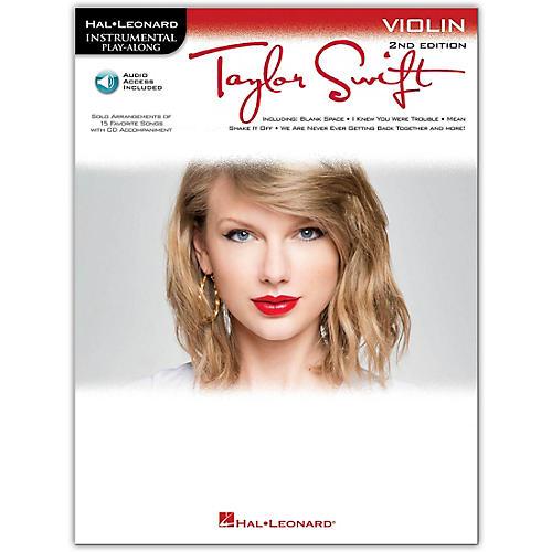 Hal Leonard Taylor Swift For Violin - Instrumental Play-Along Book/CD 2nd Edition-thumbnail