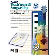 Alfred Teach Yourself Songwriting (Book/CD)