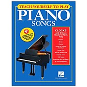 "Hal Leonard Teach Yourself To Play ""Clocks"" & 9 More Modern Rock Hits on Piano Book/ Video/Audio"