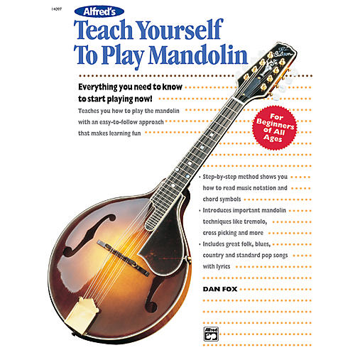 Alfred Teach Yourself To Play Mandolin Book