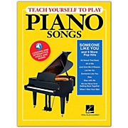 "Hal Leonard Teach Yourself to Play ""Someone Like You"" & 9 More Pop Hits on Piano Book/ Video/Audio"
