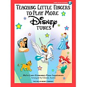 Willis Music Teaching Little Fingers To Play More Disney Tunes Book/CD