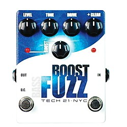 Tech 21 Bass Boost Fuzz Analog Bass Fuzz Pedal (BST-BF)