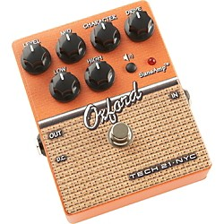 Tech 21 SansAmp Character Series Oxford Distortion Guitar Effects Pedal (CS-OX)