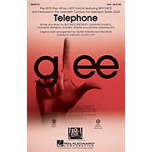 Hal Leonard Telephone (featured in Glee) SSA by Glee Cast arranged by Adam Anders