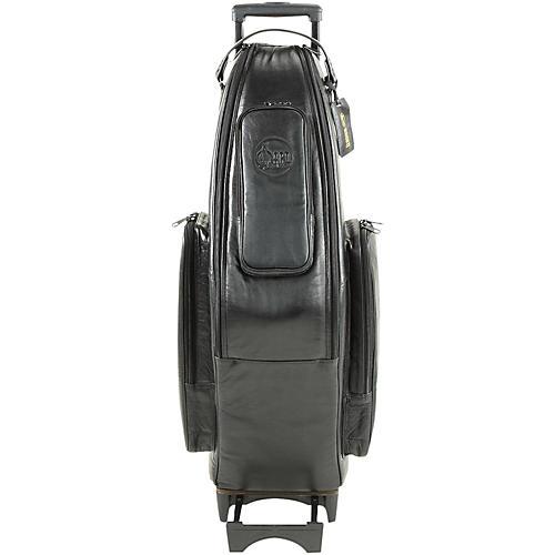 Gard Tenor Sax Wheelie Bag 105-WBFLK Black Ultra Leather