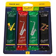 Vandoren Tenor Saxophone Jazz Reed Sample Pack