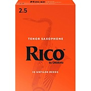 Rico Tenor Saxophone Reeds Box of 10