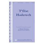 Transcontinental Music T'filat Haderech SATB arranged by Nancy Wetsch
