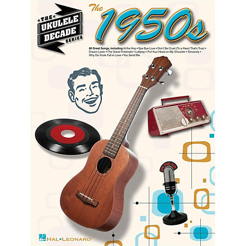 Hal Leonard The 1950s - The Ukulele Decade Series-thumbnail