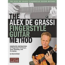 String Letter Publishing The Alex De Grassi Fingerstyle Guitar Method Book/CD