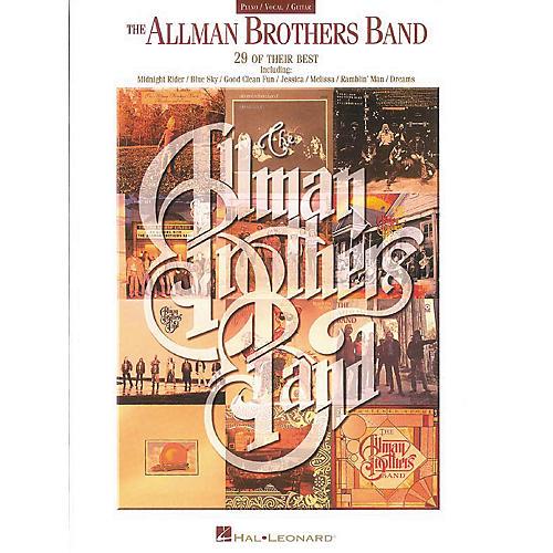 Hal Leonard The Allman Brothers Band Piano, Vocal, Guitar Songbook-thumbnail