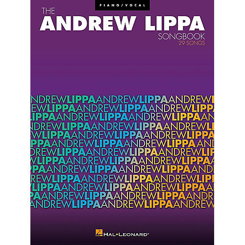 Hal Leonard The Andrew Lippa Songbook for Piano/Vocal/Guitar-thumbnail