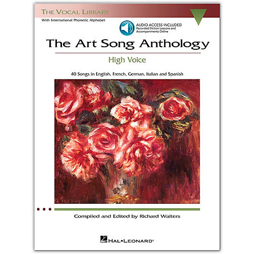 Hal Leonard The Art Song Anthology - High Voice Book with 3 CD's-thumbnail