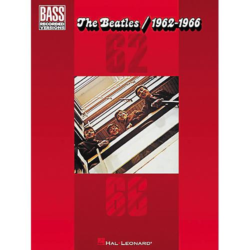 Hal Leonard The Beatles 1962-1966 Bass Tab Songbook-thumbnail