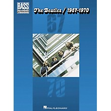 Hal Leonard The Beatles 1967-1970 Bass Guitar Tab Songbook