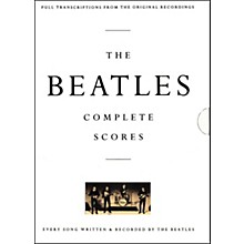 Hal Leonard The Beatles Complete Scores Book