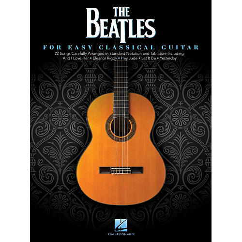 Hal Leonard The Beatles For Easy Classical Guitar (With Tab)-thumbnail