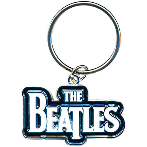 ROCK OFF The Beatles Metal Keychain-thumbnail