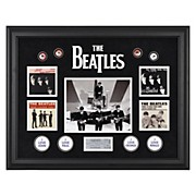 "Mounted Memories The Beatles ""On The Ed Sullivan Show"" Framed Presentation"
