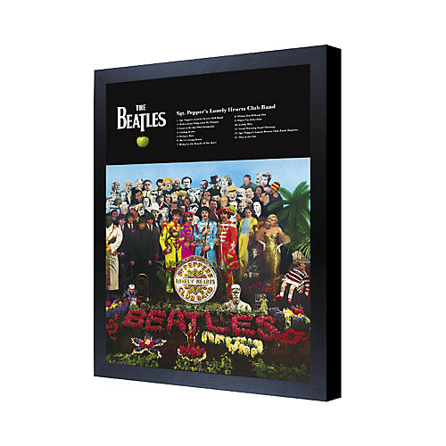 Ace Framing The Beatles Sgt. Pepper's Lonely Hearts Club Band 3D Framed Poster-thumbnail