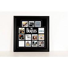 "Mounted Memories The Beatles ""U.K. Album Covers"" Framed Presentation"