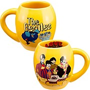 "Vandor The Beatles ""Yellow Submarine""18 oz. Oval Ceramic mug"