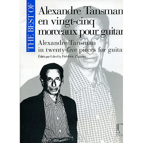 Durand The Best Of Alexandre Tansman In Twenty-Five Pieces For Guitar-thumbnail