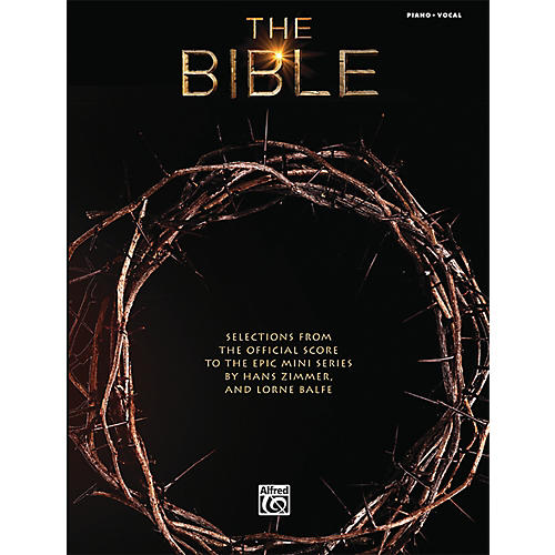 Alfred The Bible: Selections from the Official Score to the Epic Mini Series Piano Solo Book-thumbnail