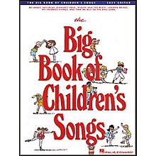 Hal Leonard The Big Book of Children's Songs Easy Guitar Tab Songbook
