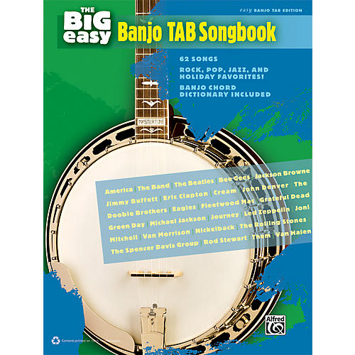 The Big Easy Banjo TAB Songbook - WWBW
