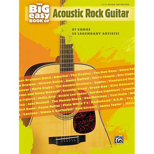 The Big Easy Book of Acoustic Guitar Tab - WWBW