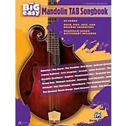Alfred The Big Easy Mandolin TAB Songbook