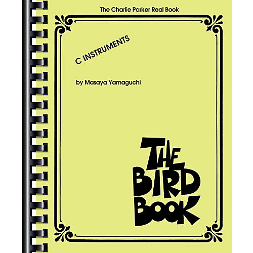 Hal Leonard The Bird Book - Charlie Parker Real Book-thumbnail