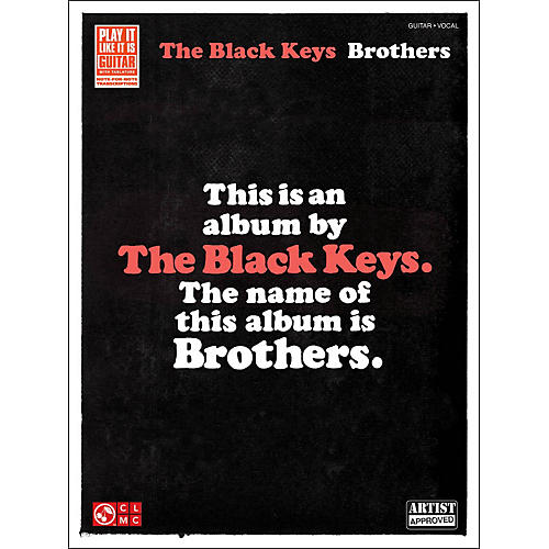 Hal Leonard The Black Keys: Brothers Guitar Tab Songbook-thumbnail